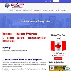 Business Investor Immigration Program