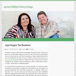 Jaye Hopp's Tax Business