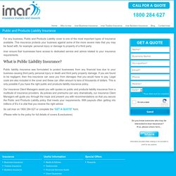 Business Public Liability Insurance from imar