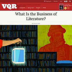 What Is the Business of Literature?