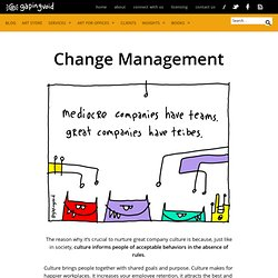 Business Culture and Change Management, in a Visual World