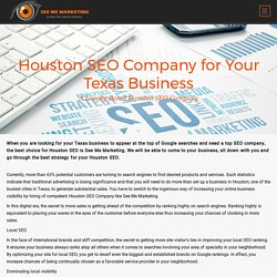 Houston SEO for Your Texas Business