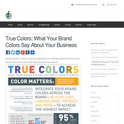 True Colors: What Your Brand Colors Say About Your Business - Image 3 Marketing Company Detroit Michigan