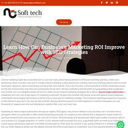 How Can Business's Marketing ROI Improve with SEO Strategies