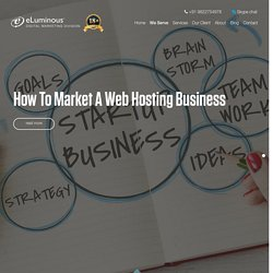 How to Market a Web Hosting Business - Ask us Marketing Strategy