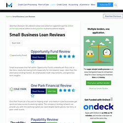 Best Small Business Loans 2021 - Reviews