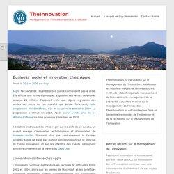 Business model et innovation chez Apple