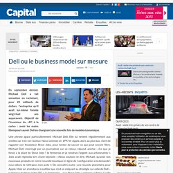 Dell ou le business model sur mesure