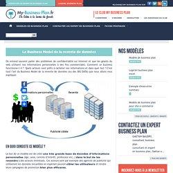 Le Business Model de la revente de données