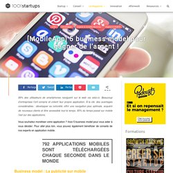 5 business model pour monétiser son application mobile