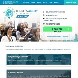 Business Agility Institute - Midwest Conference