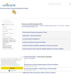 Business French - Français sur objectifs spécifiques (FOS) - français des affaires - Français du tourisme
