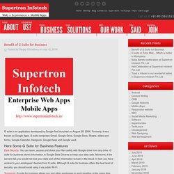 Official Supertron Infotech Pvt. Ltd – Blog