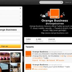Orange Business (orangebusiness) on Twitter