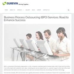 Business Process Outsourcing (BPO) Services: Road to Enhance Success