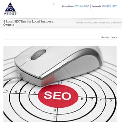 4 Local SEO Tips for Local Business Owners
