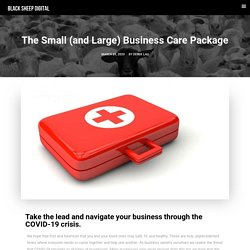 The Small (and Large) Business Care Package