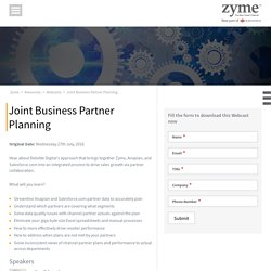 Strategy for Joint Partnership of Businesses
