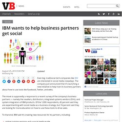 IBM wants to help business partners get social