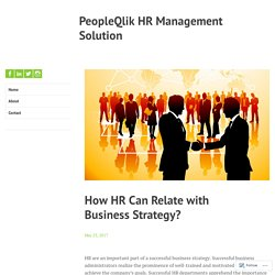 Efficient HR Management Software by PeopleQlik