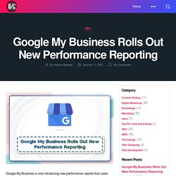 Google My Business Rolls Out New Performance Reporting