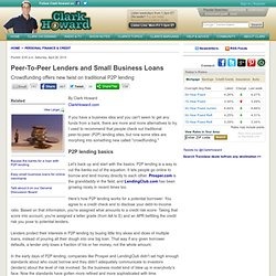 Business and personal loans without the bank hassle