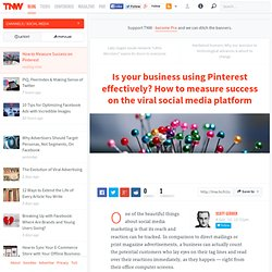How to Measure Success on Pinterest