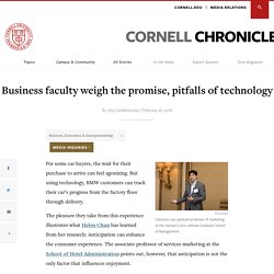Business faculty weigh the promise, pitfalls of technology