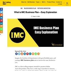 □IMC Business Plan List 2020 - My Listing Mart