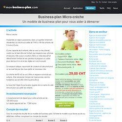 Daycare Business Plan Template | Free Business Plan Software