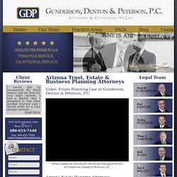 Trust, Estate & Business Planning Attorney