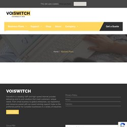 Business Plans - Voiswitch
