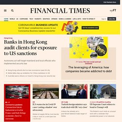 World business, finance and political news from the Financial Ti