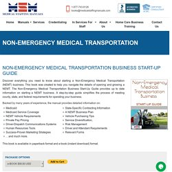 Benefits of Hiring Non-Emergency Medical transportation in the USA!