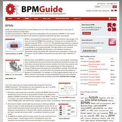 It's Business Process Management » BPMN