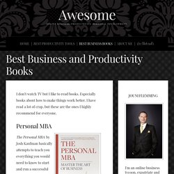 Best Business and Productivity Books