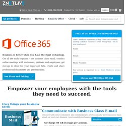 Business Productivity Suite – Office 365