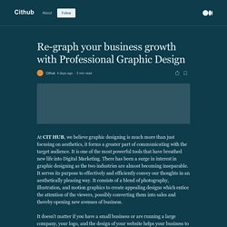 Re-graph your business growth with Professional Graphic Design