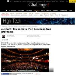e-Sport : les secrets d'un business très profitable - 4 décembre 2014