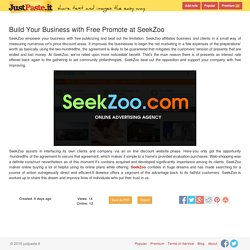 Build Your Business with Free Promote at SeekZoo