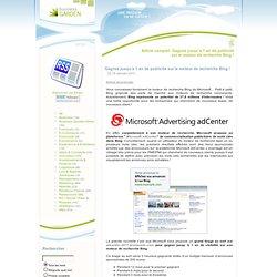 Gagnez jusqu'à 1 an de publicité sur le moteur de recherche Bing !