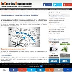 Le business plan du créateur ou repreneur d'entreprise