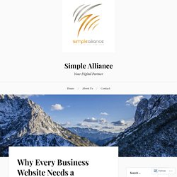 Why Every Business Website Needs a Responsive Website Design? – Simple Alliance
