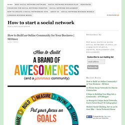 How To Start A Social Network — Business models, revenues, engagement