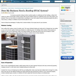 Does My Business Need a Rooftop HVAC System?