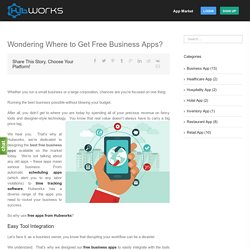 Free Business Mobile Apps- Business Scheduling and Time Tracking