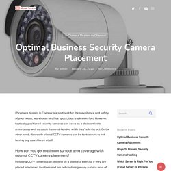 Optimal Business Security Camera Placement