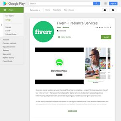 Fiverr® - Business Services