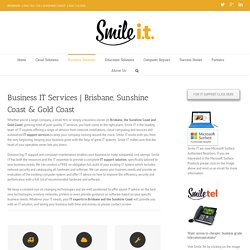 Business IT Services Brisbane, Sunshine Coast & Gold Coast