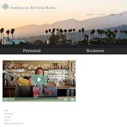 American Riviera Bank offers Business Loans in Montecito